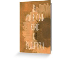 Be Your Own Greeting Card