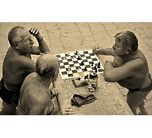 it's your move  Photographic Print