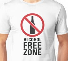 Alcohol Free Zone - Light Unisex T-Shirt