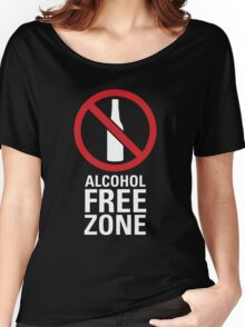Alcohol Free Zone - Dark Women's Relaxed Fit T-Shirt