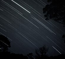 Star Trails in B&W by kutayk