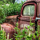 THE OLD ABANDONED FIRE ENGINE.........! by Roy  Massicks