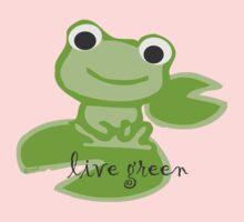 live green Baby Tee
