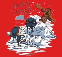 Calvin And Hobbes snow wars One Piece - Short Sleeve