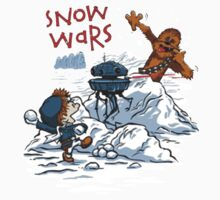 Calvin And Hobbes snow wars One Piece - Long Sleeve
