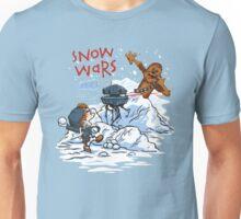 Calvin And Hobbes snow wars Unisex T-Shirt