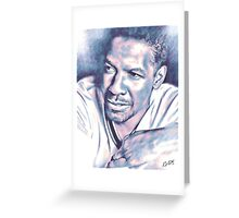 Denzel Greeting Card