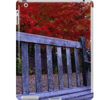 Fall Bench iPad Case/Skin