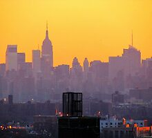 New York City hues  by Alberto  DeJesus