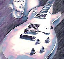 Les Paul & Eric Clapton by Brandon Batie