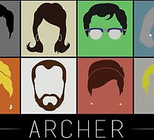 Archer by dragedesigns