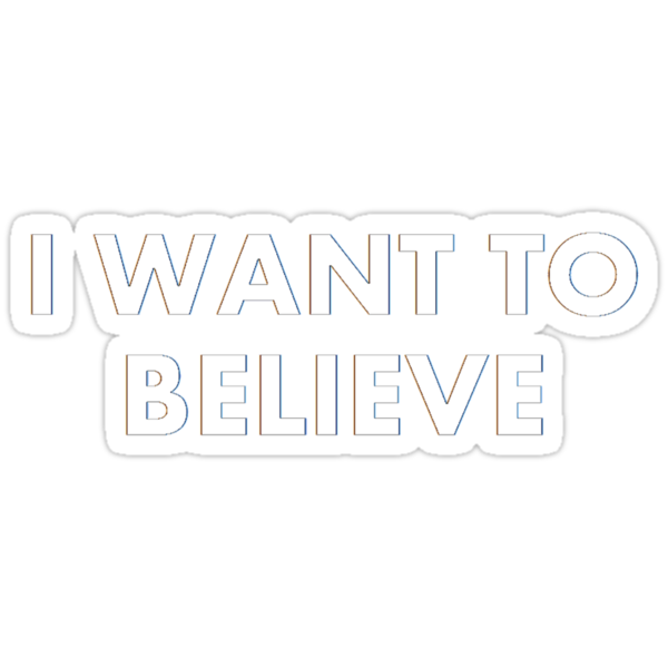 I Want To Believe by alexiliadis