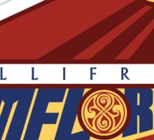 Gallifrey Timelords Sticker