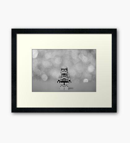 Trooper Framed Print