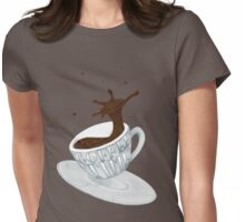 Coffee Time! Womens Fitted T-Shirt