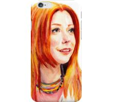 Willow Coloured Pencil Drawing iPhone Case/Skin