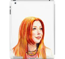 Willow Coloured Pencil Drawing iPad Case/Skin