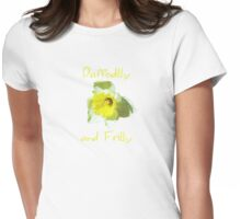 Daffodilly  Womens Fitted T-Shirt