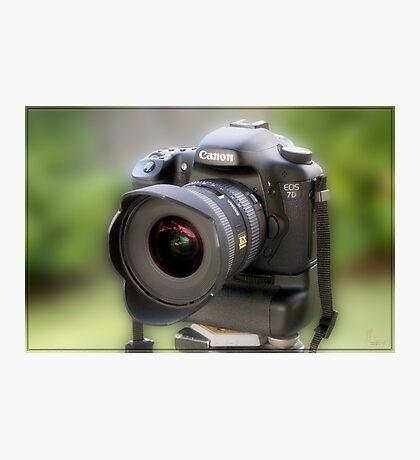 Canon EOS 7D Photographic Print