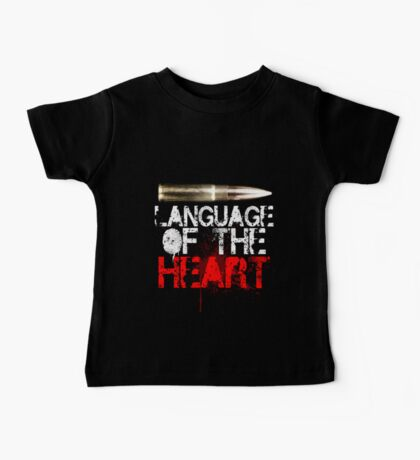 Language of The Heart Baby Tee