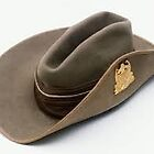 """Aussie Army """"digger's"""" slouch hat by Ian A. Hawkins"""