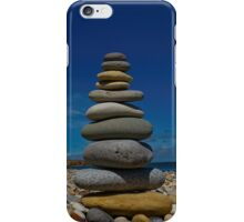 Pebble stack iPhone Case/Skin