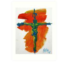 Gospel of Matthew 2008 Art Print