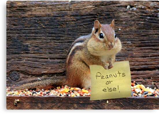 Peanuts or Else! by Lori Deiter