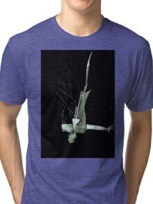 Let's Draw Sherlock The Reichenbach Fall Tri-blend T-Shirt