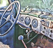 1947 International Dashboard by Brandon Batie