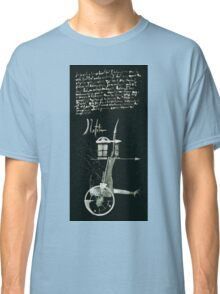 Let's Draw Sherlock The Reichenbach Fall Classic T-Shirt