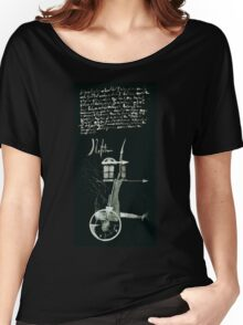 Let's Draw Sherlock The Reichenbach Fall Women's Relaxed Fit T-Shirt