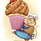 Cupcake Mouse by Aja Wells