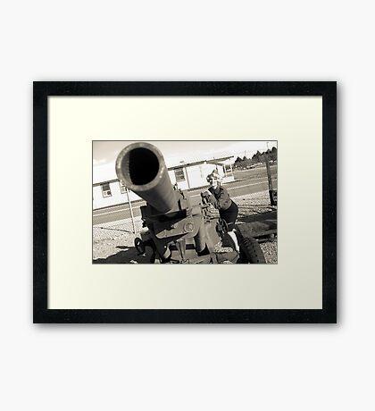 cannooon Framed Print