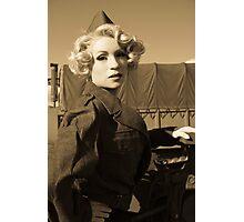 army girl Photographic Print