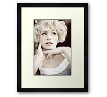 hidden desire Framed Print