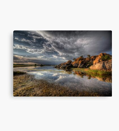 Point of Reflection 2 Canvas Print