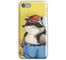 Disgruntled Raccoon iPhone Case/Skin