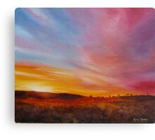 Sundrenched Evening in the Kimberley Canvas Print