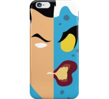 Harvey Dent Two Face Minimalistic Design iPhone Case/Skin