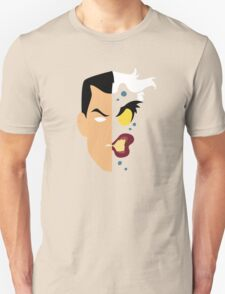 Harvey Dent Two Face Minimalistic Design Unisex T-Shirt