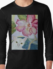 My Desert Rose - Adenium Long Sleeve T-Shirt