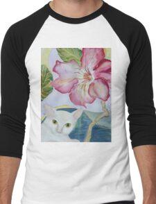 My Desert Rose - Adenium Men's Baseball ¾ T-Shirt
