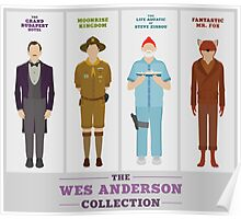 Wes Anderson Collection Poster
