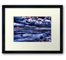 Tidal Frost Framed Print