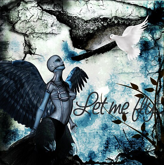 Let Me Fly by AmbientKreation