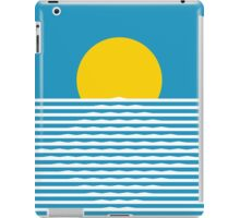 Retro sunrise iPad Case/Skin