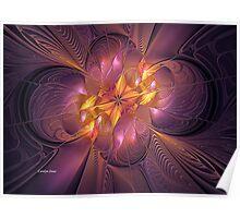 Plumeria Visions Poster