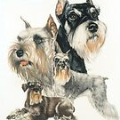 Miniature Schnauzer by BarbBarcikKeith
