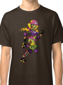 Zombie Derby Doll Classic T-Shirt